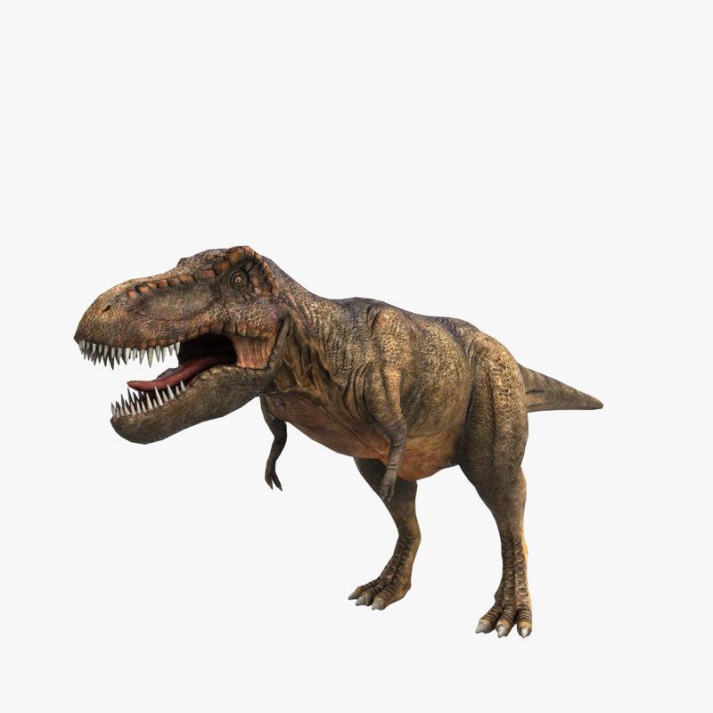 3ds max tyrannosaurus