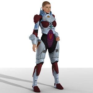 armor poser v4 3d pz3