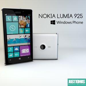 3d nokia lumia 925