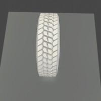 bridgestone tire rubber 3d ma