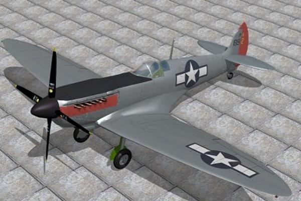 3ds supermarine spitfire prxi