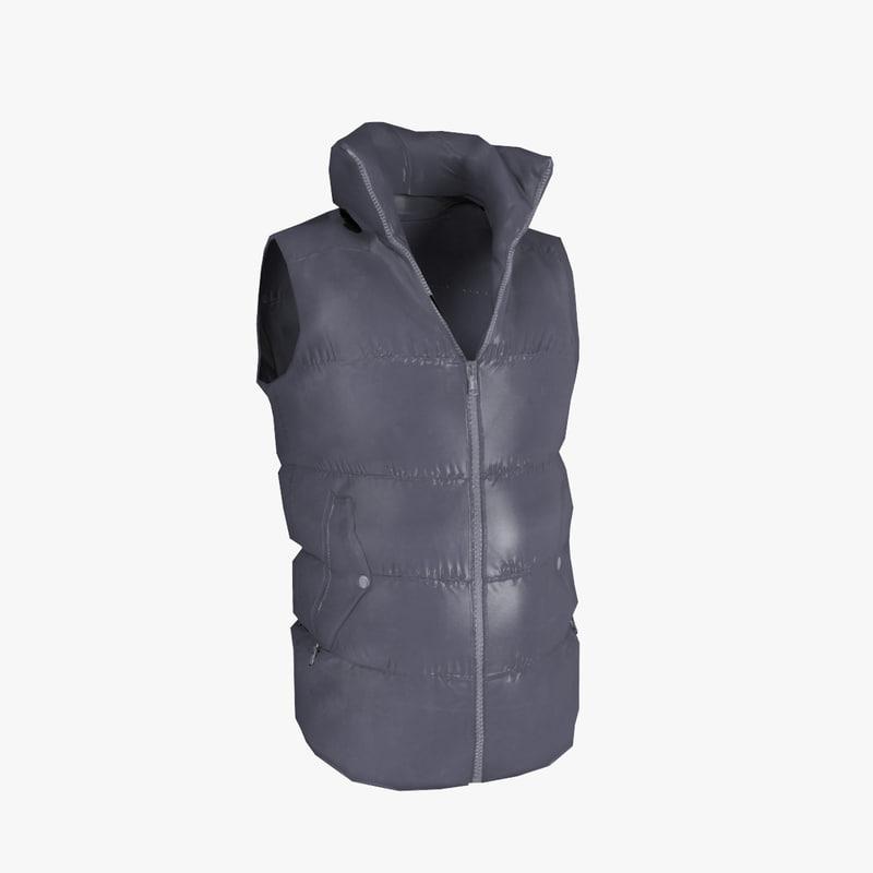 3d model vest