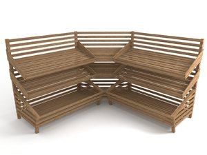 bread shelf 3d 3ds