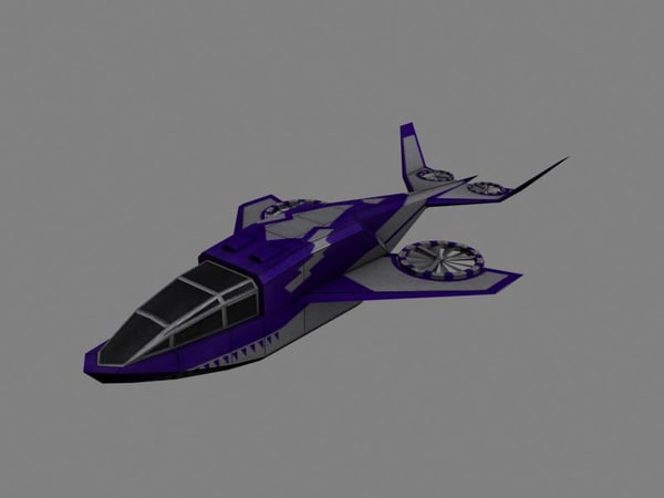 aircraft obj