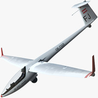 3ds max glider cockpit pilot