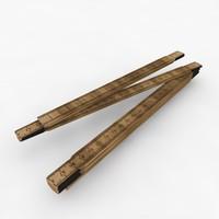 Folding Carpenters Ruler