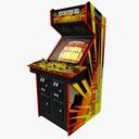 arcade games 3D models