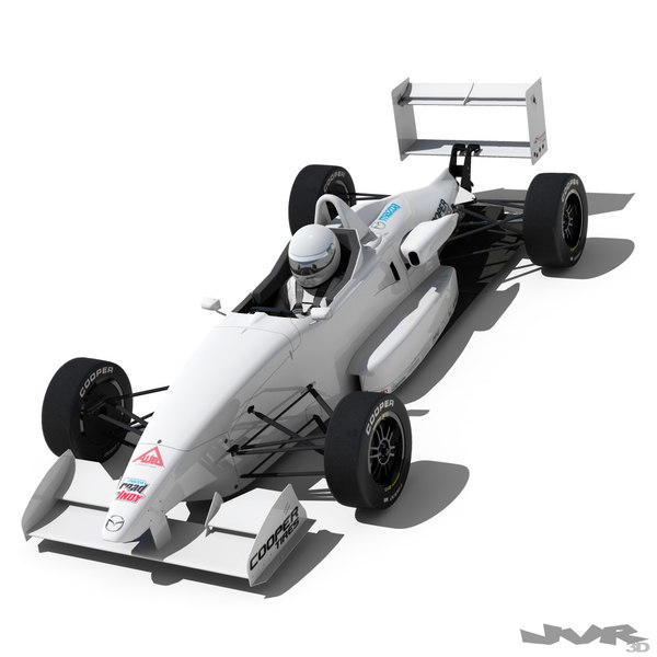 3d usf-2000 formula race car model