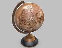 c4d old globe