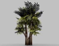 palm tree 3d 3ds