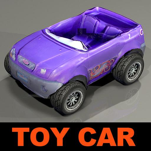 toy car 3d 3ds