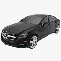 Mercedes-Benz CLS-Class Coupe 2014 Car Without Interior