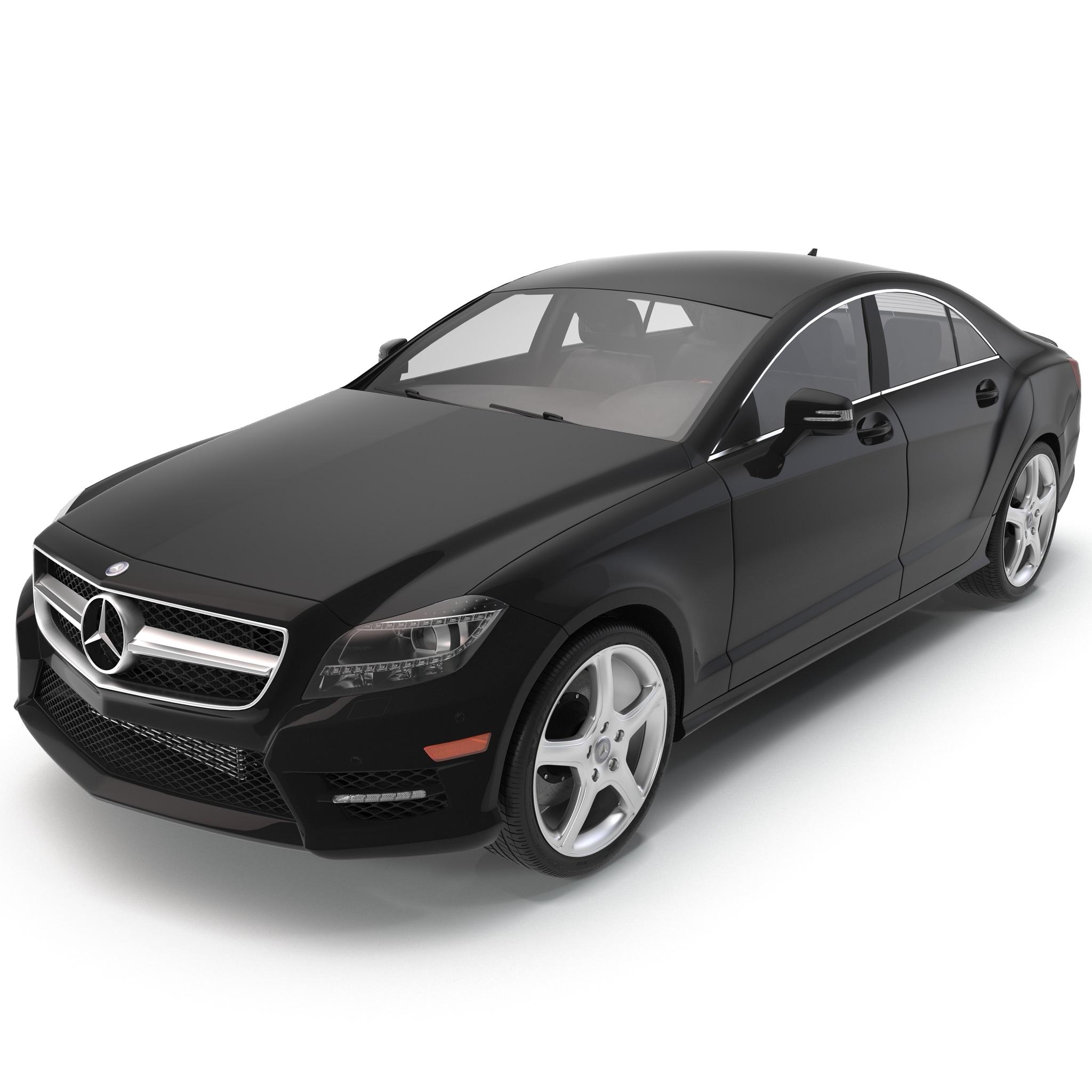 mercedes-benz cls-class coupe 2014 3d model