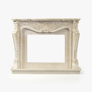 antonio carmona fireplace 3d max