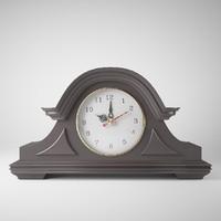 3d model clock 4