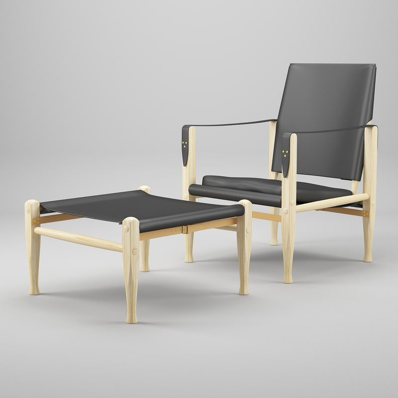 chair stool 3d 3ds