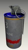 3d bomb smoke model
