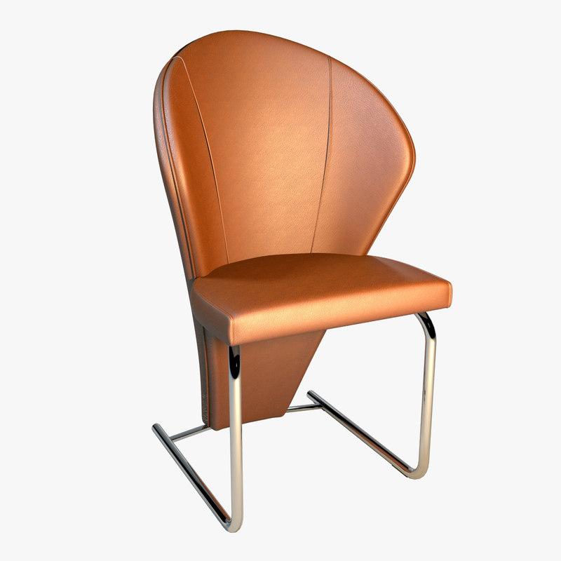 chair ronald schmitt 3d max