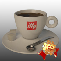 Illy coffe cup