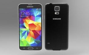 samsung galaxy s5 3d obj