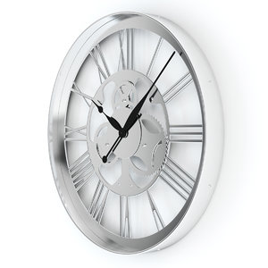 wall clock gear 3d max