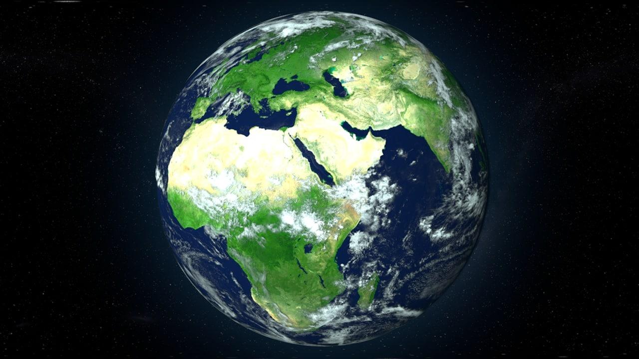 c4d earth maps