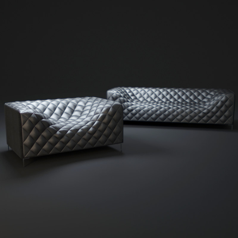 3d zuo-providence-love-seat model