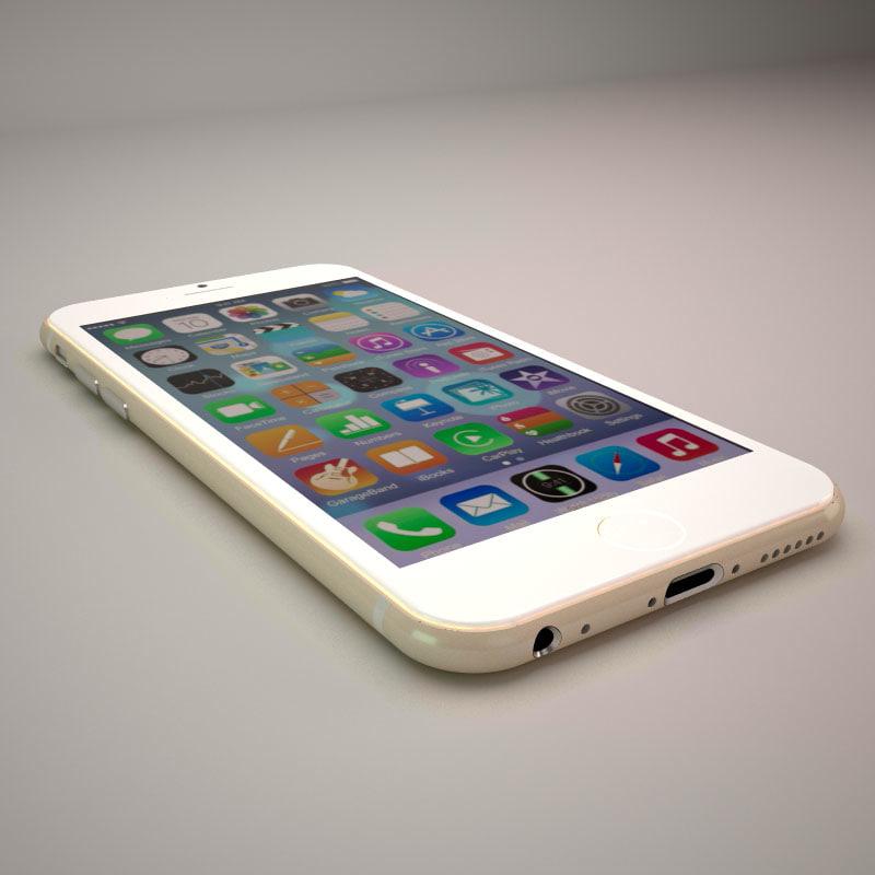 3dsmax iphone 6