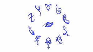 dae runes glyphs symbols