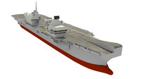 3d hms queen elizabeth aircraft carrier