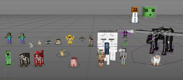 3d model mobs