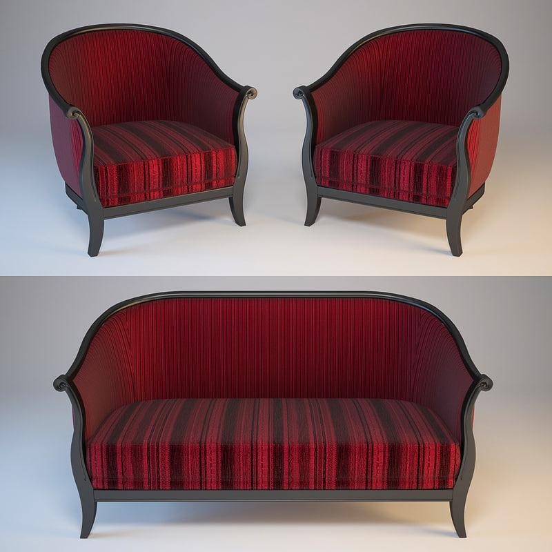 3d sofa mobilsedia duchessa model