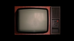 cinema4d realistic old tv