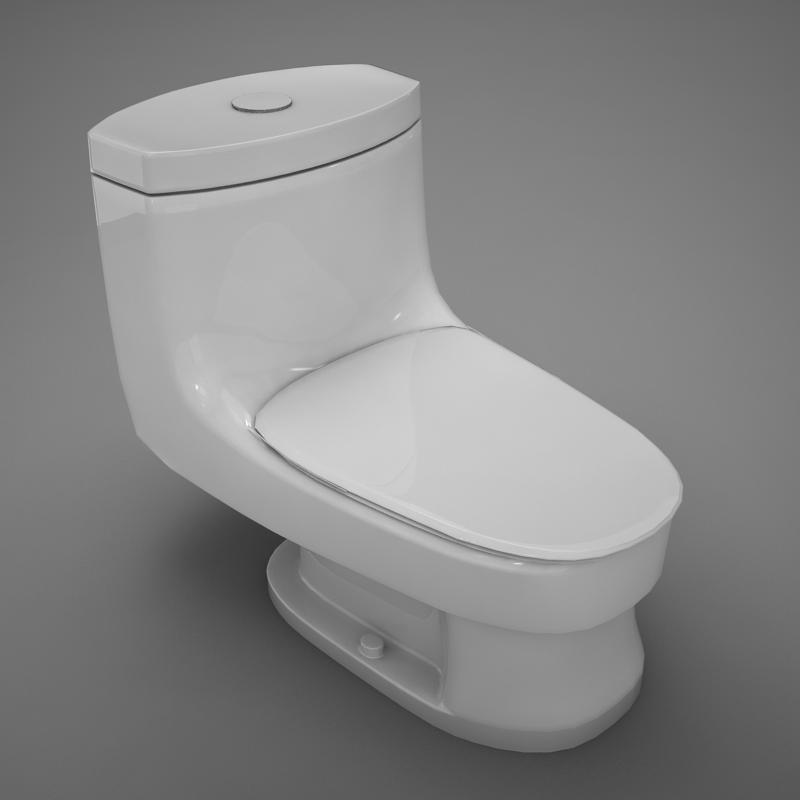 3ds max bathroom house