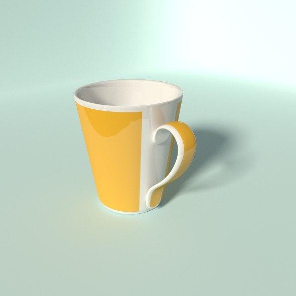 blend coffee cup