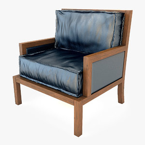 3d 3ds armchair chair