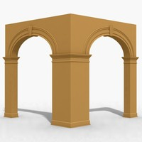 3d dxf arch