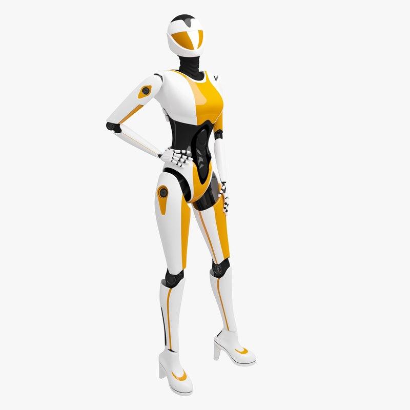 female cyborg 3ds