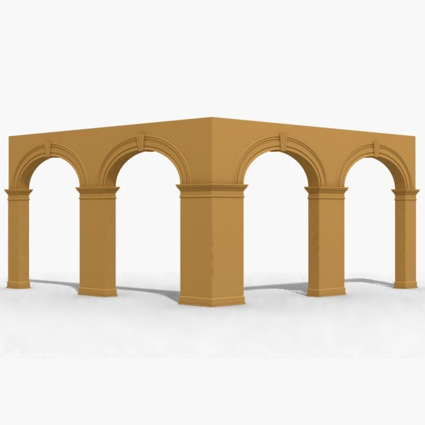 arch 3d dxf