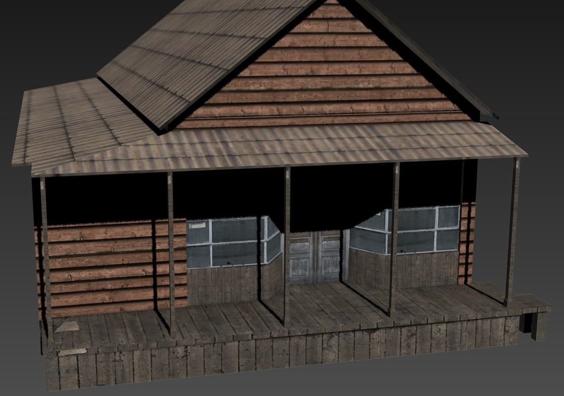 towns 3d model