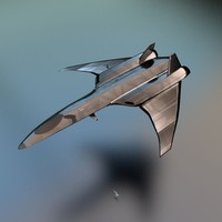 spaceship fighter 3d fbx