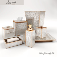 Bathroom accessories Labrazel MirafloresGold