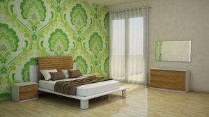 3d bedroom furniture room