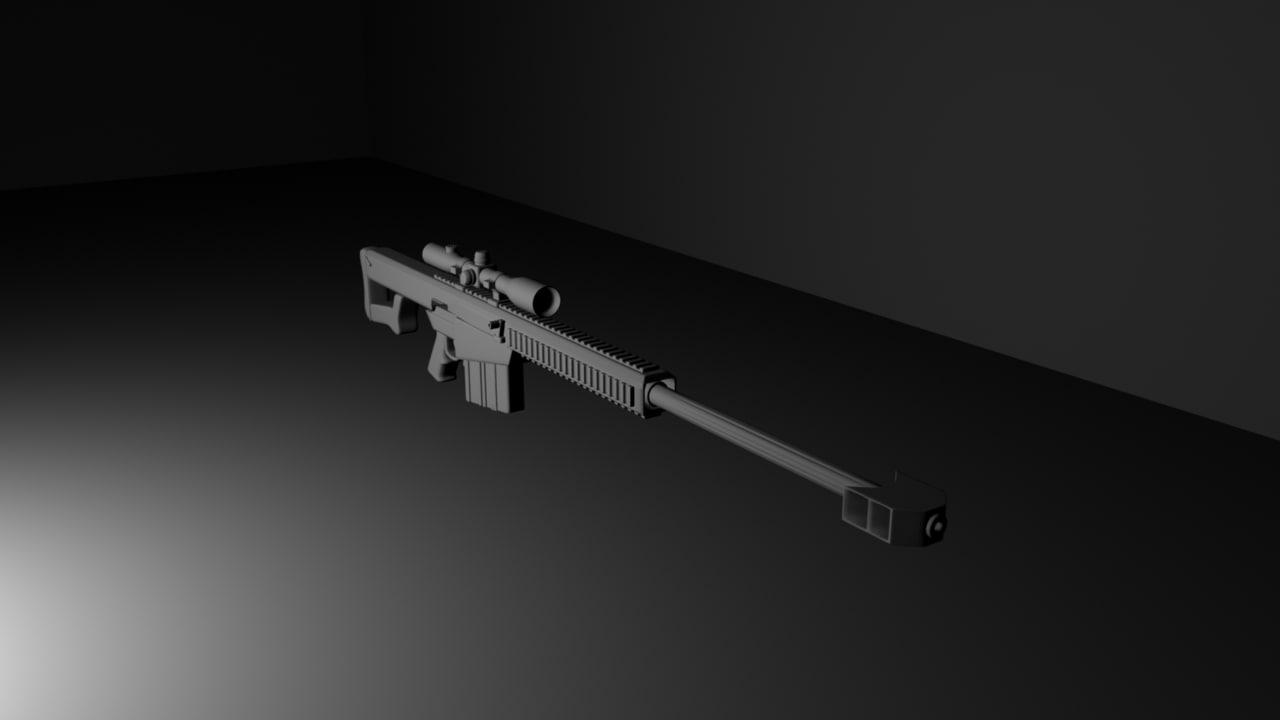 maya 50 caliber sniper rifle