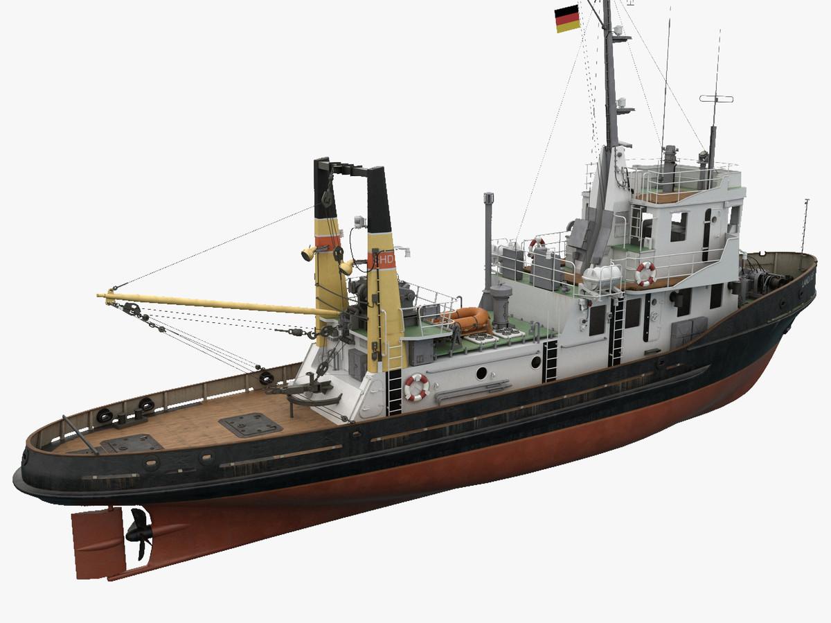 3d model boat ship