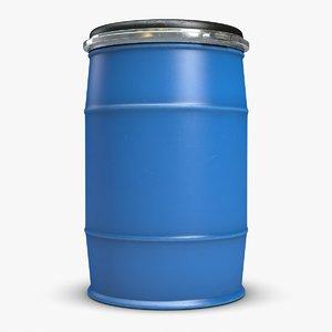 plastic barrel 5 3ds