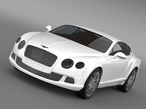 3ds max bentley continental gt 2011