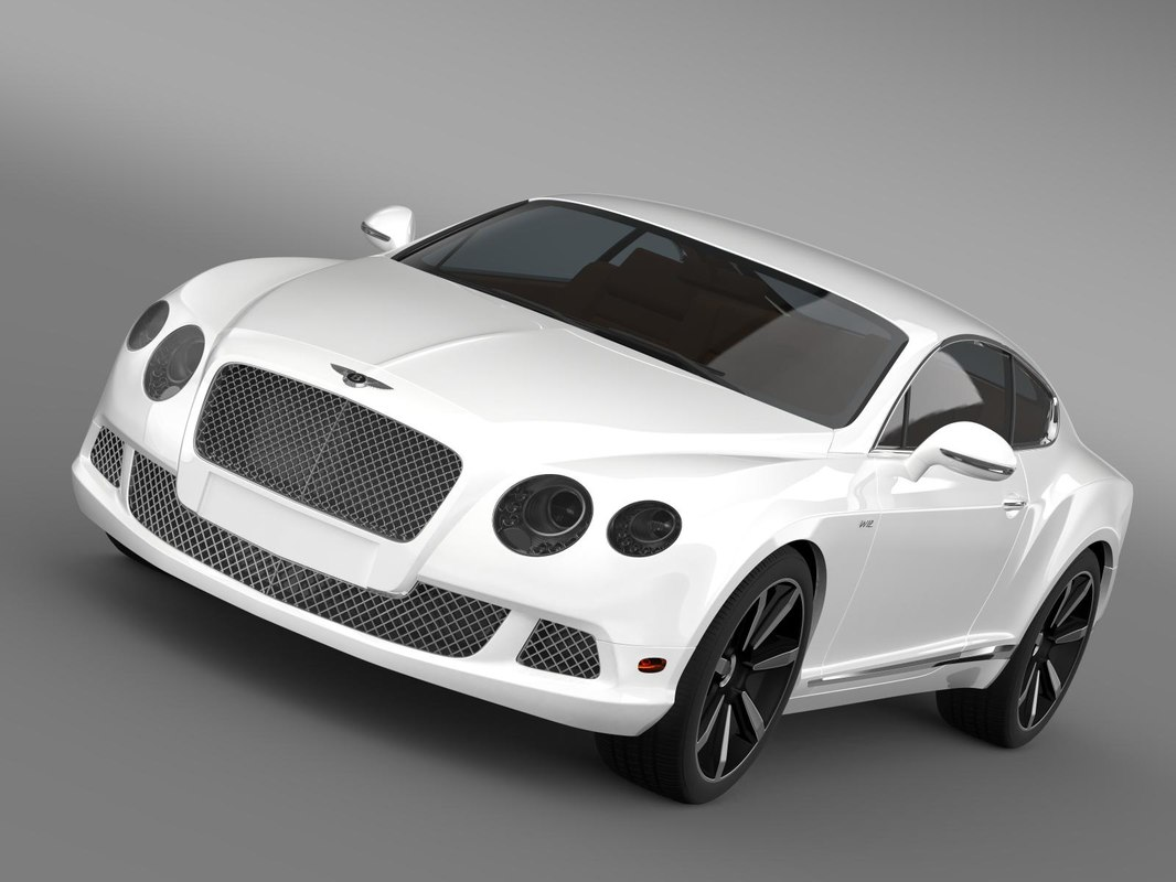 3d bentley continental gt speed