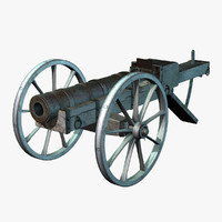 chamber cannon 3d 3ds