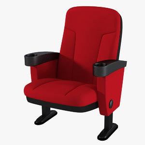 3d model figueras megaseat chair